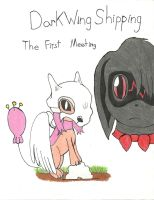 DarkWingShipping: The First Meeting-Cover by adventurerabby