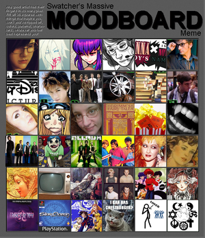 Meme - Moodboard Influences