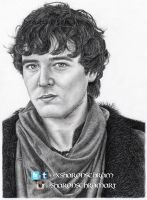 Mordred (Alexander Vlahos) by Sharsel