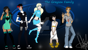 TTNG_The_Grayson_Kids by BBG4ya