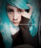 Rolling girl is a lonely girl by ChessKat