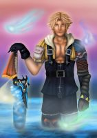 FF X : Tidus by Farstar-Art