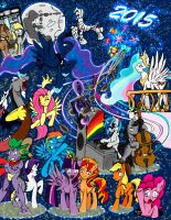 My Little Pony 2015 by Shard-of-Life