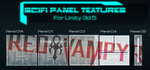 Sci Fi Panels TEXTURES SET ON UNITY ASSET STORE by RedVampyr