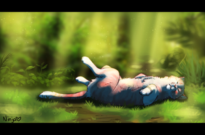 Forest Slumber by NinjasHeart