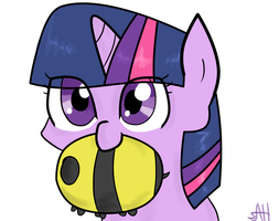 Twilight with Mrs. Buzzy by AnneHairball