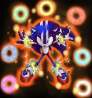 darkspine sonic by shoppaaaa