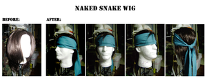 Naked Snake - Wig by SnowBunnyStudios