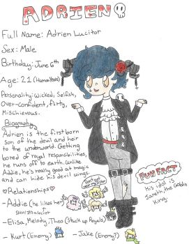 Adrien (Reference Sheet #4) by ambidextrious-witch