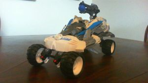 Hero Factory Transformer: Stormer XL (vehicle mode by DrScorpion