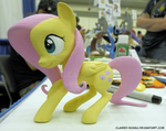 Fluttershy 3D Print [Bronycon] by Clawed-Nyasu