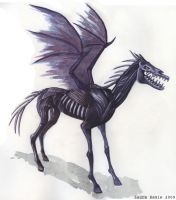 Thestral by LaurasMuse