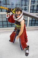 Auron - Final Fantasy X: 2 by popecerebus