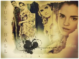 Hermione Yule Ball Wallpaper by Bowserbabe