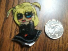 Misa Deathnote chibi charm by aliciamarie923