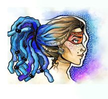 dreadlocks by Alexandra-Mad