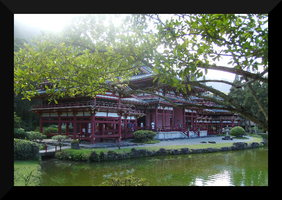 Byodo-In Temple by CMWVisualArts