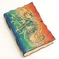 COLORFUL DRAGON by gildbookbinders