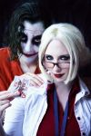 The Joker and Dr. Harleen Quinzel by Stephanie-van-Rijn