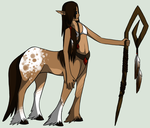 Centaur Lady  by Dragon-Wolf-Lover