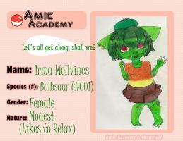 Amie Academy - Irma Application by ajforpresident