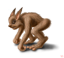 Creature of the Fae (name unknown) by Aealacreatrananda
