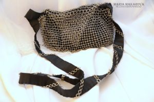 Chainmail bag by Madormidera