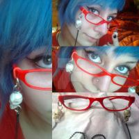 Grell Sutcliff Glasses by MultiColouredMonster