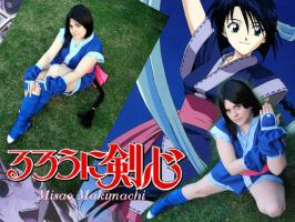 misao collage by saethewitch