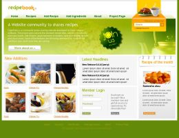Recipe Book Website by iTechies