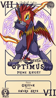 Character Card : Optimus by vavacung