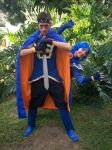 Fire Emblem: Marth Lowell mode Troll Cosplay xD by MarthLowell94