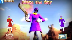 Blaze the Spy (DOWNLOAD TF2 and Gmod) by ErichGrooms3