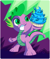 Spike Day 2015 by AffinityPony