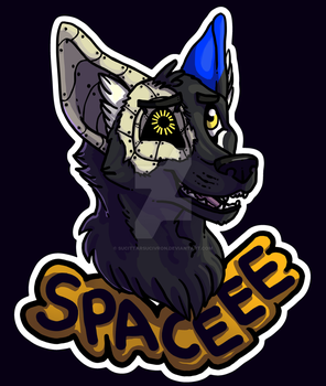 Space Core Badge- Dusk by SucittarSucivron
