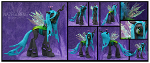 Queen Chrysalis Custom Plush by Nazegoreng