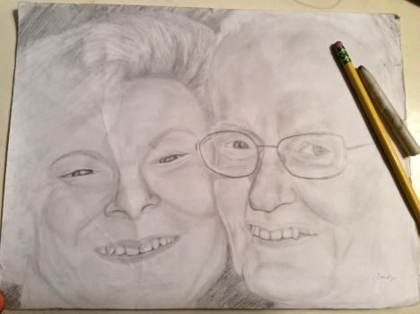 My grandparents by irrationaltaco