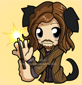 Sirius - Harry Potter by amy-art