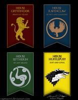 Hogwarts School of Witchcraft and Westeros by CaptnArrri