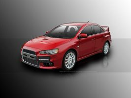Lancer Evo X final by sc4designs