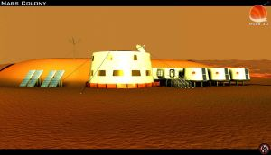 Mars 3D - The Mars Colony by MikomDude
