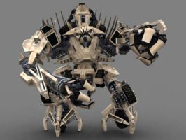 TF The Game Bonacrusher Papercraft by PapercraftKing