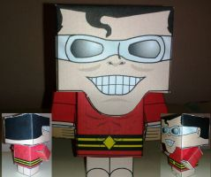 Cubeecraft Plastic Man Completed by handita2006