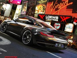 porsche black by mateus12345