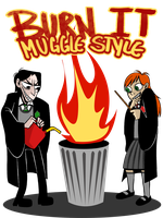 SNILY: BURN IT MUGGLE STYLE by Lascaux