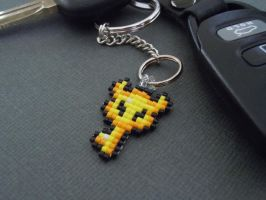 Version 2 Boss Key Pixel Keychain by Pixelosis