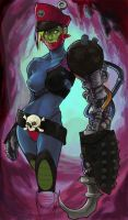 Female Trapjaw by johndevilman