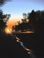 Suburban lights by snowboarder371