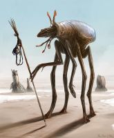 Huntress by Abiogenisis