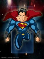 Superman Man of Steel without heat vision by edwinj22